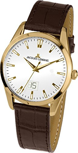 0a8d5818e1c3 Jacques Lemans Liverpool - Reloj de pulsera analógico para mujer cuarzo  piel 1 - 1828 C
