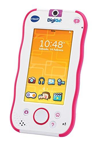VTech - DigiGo, tablet educativo para niños, color rosa (3480-168857) [versión española edición 2016]
