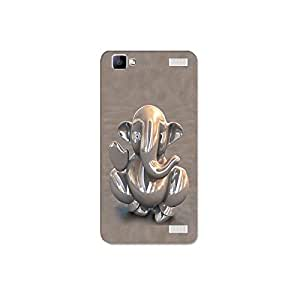 vivo y37 nkt10_r (24) Mobile Case by Mott2 -Bhupati Ganesha- Lord of the Gods (Limited Time Offers,Please Check the Details Below)