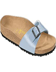 Birkenstock Sandals ''Madrid'' from Birko-Flor in Graceful Babyblue with a regular insole by Birkenstock