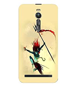 ifasho Lord Siva Tandav Back Case Cover for Asus Zenfone 2