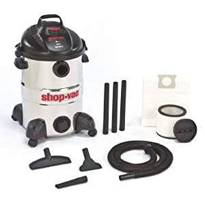 Shop-Vac&#174 Shop-Vac 5866200 12-Gallon 6.0-Peak HP Stainless Steel Wet/Dry Vacuum at Sears.com