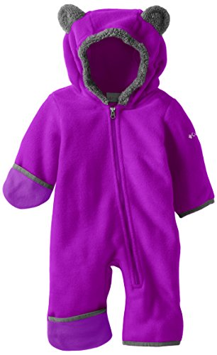 Columbia Baby Tiny Bear II Bunting, Bright Plum, 6-12 Months