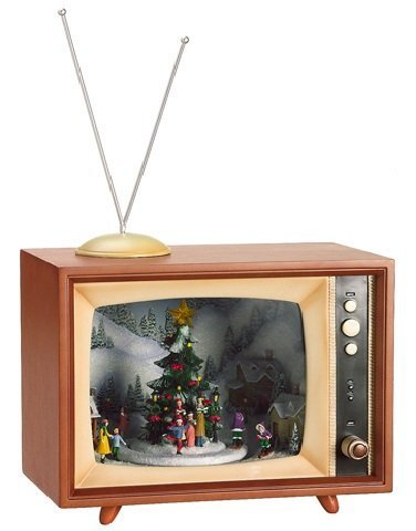 allstate-amusements-lighted-retro-musical-tv-set-with-animated-christmas-village-10-by-allstate