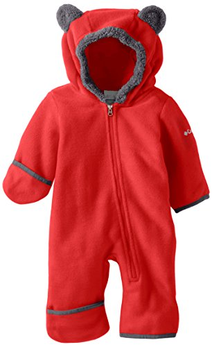Columbia Baby Tiny Bear II Bunting, Mountain Red, 0-3 Months