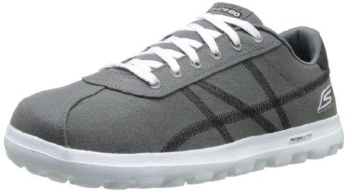 Skechers on-the-GOPrevail, Sneaker uomo, Grigio (Grau (GYBK)), 42