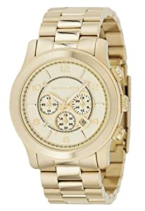 Michael Kors MK8077 Gold-Tone Men's Watch by Michael Kors