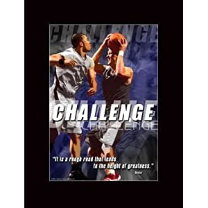 Motivational Basketball Posters on Amazon Com  Basketball Motivational Poster Challenge  Everything Else