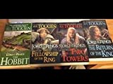 Lord of the Rings 4 Book Set: The Hobbit, the Fellowship of the Ring, the Two Towers, the Return of the King
