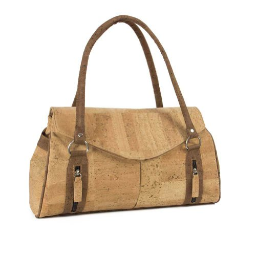 Corkor - Cork Shoulder Handbag for Women, Vegan Bag