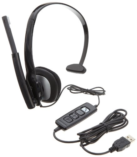 Plantronics Blackwire C210-M Monaural Headset For Microsoft (80298-02)