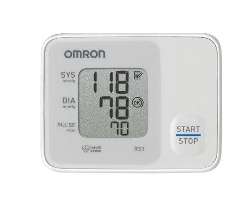 Omron Handgelenk-Blutdruckmessgerät RS 1 thumbnail