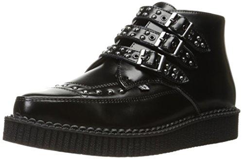 T.U.K. A9114, Stivali donna nero Black, nero (Black), 44 EU