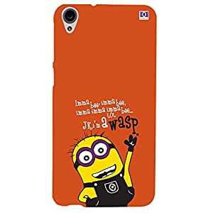 Wosp Minions - Mobile Back Case Cover For HTC Desire 820