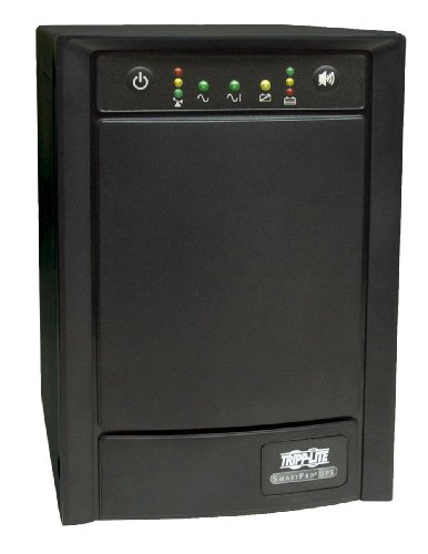 Tripp Lite SMART1500SLT 1500VA 900W UPS Smart Tower AVR 120V USB DB9 SNMP for Servers, 8 Outlets