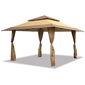 Amazon Com E Z Up Pagoda Shade Shelter Canopy 13 X 13