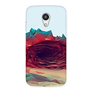 Unicovers Amazing Rose Back Case Cover for Moto G 2nd Gen