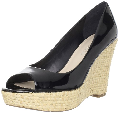 Franco Sarto Womens Wedge Black
