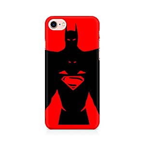 NXT GEN Superman within Batman Premium Printed Mobile Back Case Cover For Apple iPhone 7