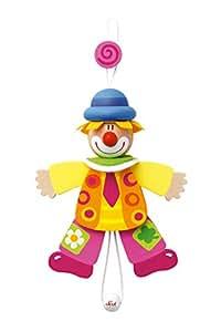 82056 - Sevi - Hampelmann Clown Krawatte 14 cm
