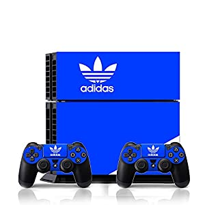 Ci-Yu-Online VINYL SKIN [PS4] - ShoeBox #1 Adidas Originals Logo Shoe Box - Whole Body STICKER DECAL COVER for PS4 Playstation 4 System Console and Controllers