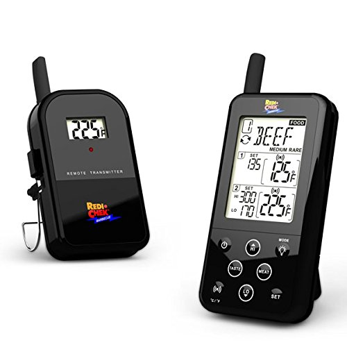 Wireless BBQ&Meat Thermometer ET-733 Black Edition