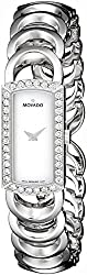 Movado Women's 606007 Rondiro Diamond Accented Stainless-Steel Watch