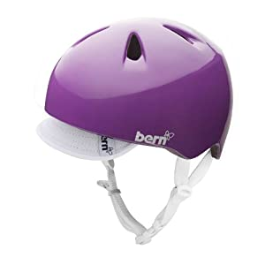 Bern Nina Helmet - Girls' Gloss Purple, S