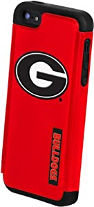 Buy Forever Collectibles NCAA Georgia Bulldogs Dual Hybrid Hard Apple iPhone 5 5S Case by Forever Collectibles