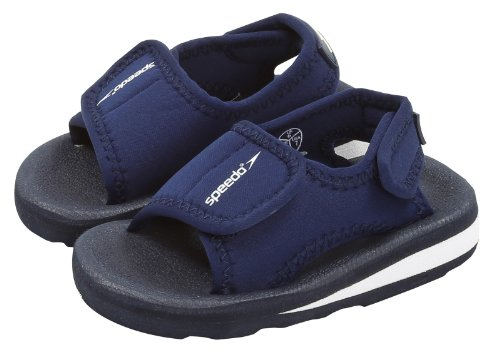 Speedo Kids Zeus Navy Velcro Sandals