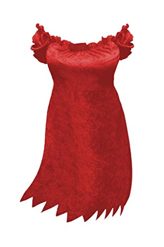 [Sanctuarie Designs Womens Sexy Red Devil Dress Plus Size Supersize Halloween Costume/ Dress] (Sexy Witch Costumes Plus Size)