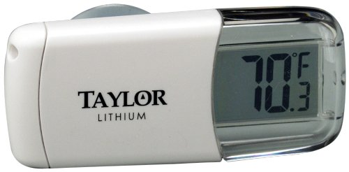 Taylor Digital Stick On Refrigerator Thermometer