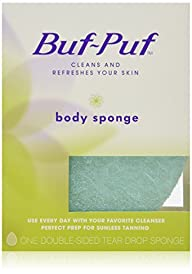 Buf-Puf Double-Sided Body Sponge (Pac…