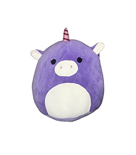 Kellytoy Squishmallow 16 Astrid The Purple Unicorn Super Soft Plush Toy Pillow Animal Pet Pal Buddy Gift Christmas Holiday (Color: Purple, Tamaño: 16 inches)