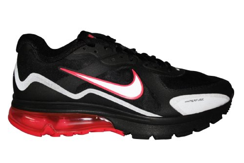 Nike Air Max Alpha 2011 Black Gray Solar Red 95 Inspired Running Men Shoes  (12) 82db9261f09b