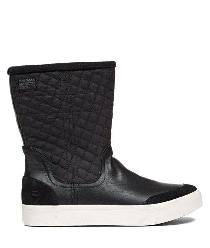 G-STAR-64080 RAW FOOTWEAR, Scarpe donna, (Black Lthr & Textile  400), 37