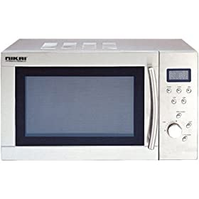 220 Volt Nikai Japan Microwave .8 Cu. Ft. Stainless