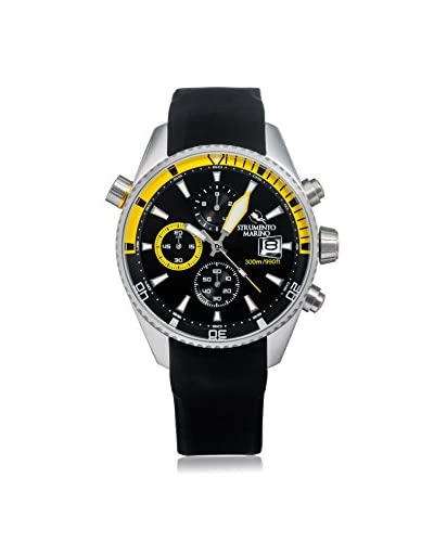 Strumento Marino Men's Black/Yellow SM113S/SS/NR/GL/NR Watch