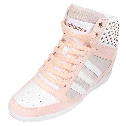 6 Us W 89 Super Today Women's Wedge Adidas Buy Pinkwhite 99 fnqXwgXp