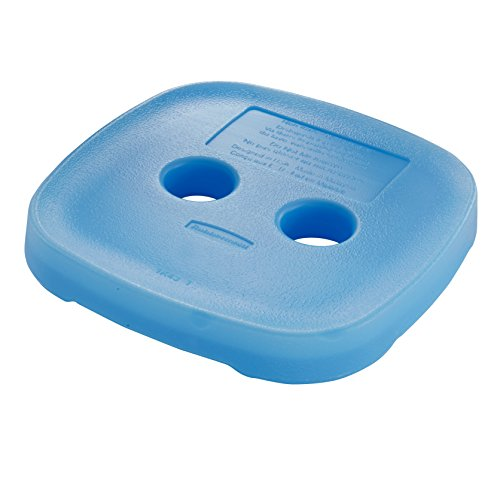 Rubbermaid Blue Ice for Easy Find Lid Containers, Medium (1805555) (Ice Blue Contacts)