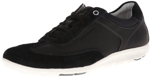 Rockport Men's Truwalk Zero II Walking Shoe,Black/Perforated,8 W US