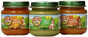 Earth's Best Organic My First Veggies Baby Food Starter Pack, 2.5 Ounce, 12 Jars