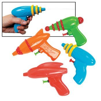 Space Squirt Guns - Summer & Novelty Toys & Games