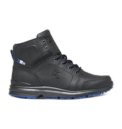DC Men's Torstein Skate Boot, Black/Blue, 10 M US