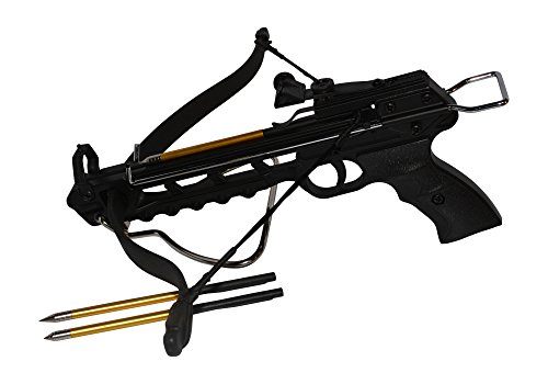 Rogue-River-Tactical-80lbs-80-Pound-Pistol-Crossbow-with-Arrow-Holder-w15-Cross-Bow-Bolts-Arrows