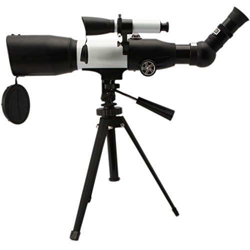 Great Value Telescope Professional 350/60Mm Mystery Astronomical Telescope White & Black