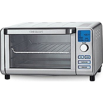 Cuisinart - Compact Digital Toaster Oven/Broiler from Cuisinart