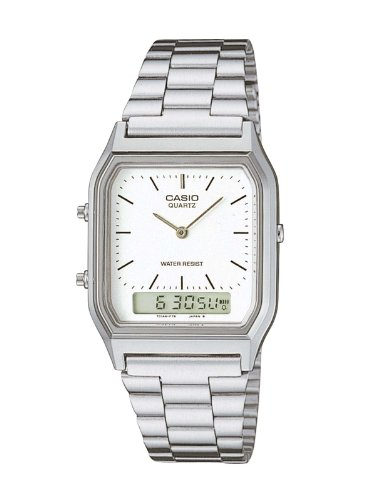 Casio AQ-230A-7DMQ Mens Combi Bracelet Watch