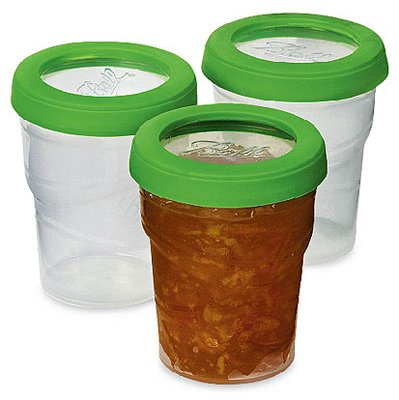 Ball Plastic Freezer Jar 8oz Pack of 3