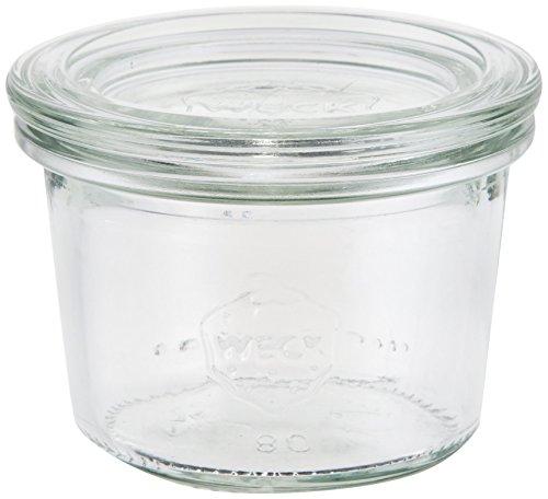 WECK Mold Shape ガラスキャニスター 80ml WE-080
